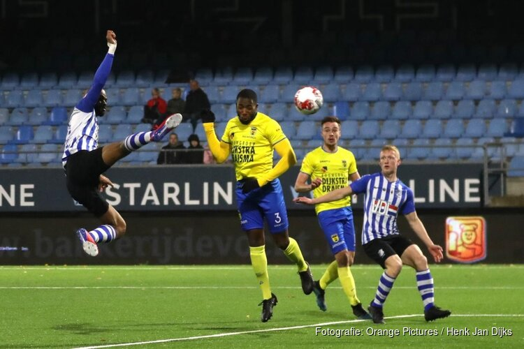 SC Cambuur na rust langs FC Eindhoven
