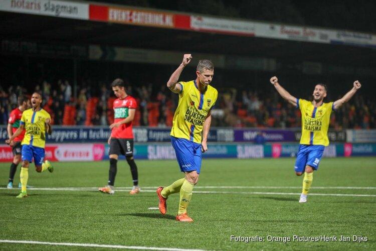 Titelfavoriet SC Cambuur begint competitie met zege op NEC