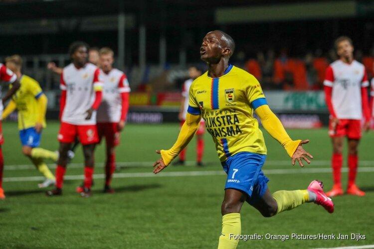 Kallon helpt gehavend Cambuur langs Jong FC Utrecht